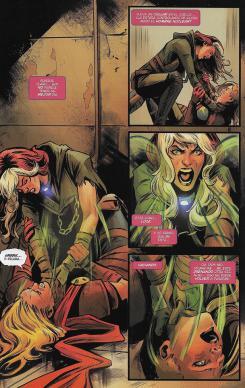 Capitana Marvel, núm. 4. Página de muestra.