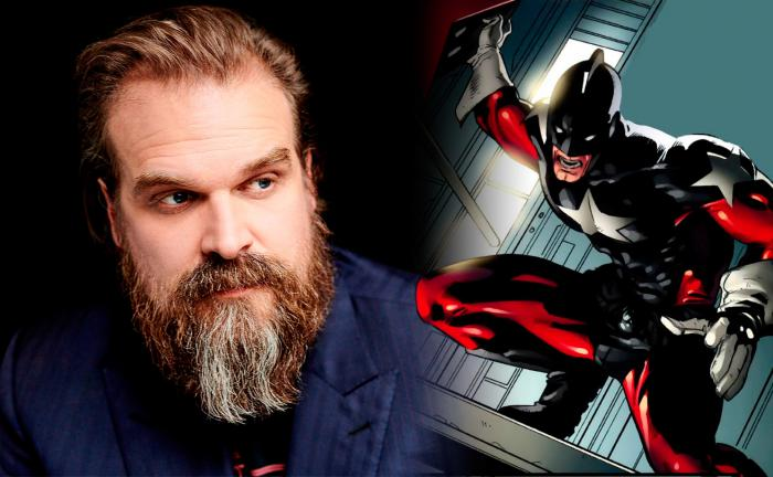 David Harbour y Guardián Rojo (Alexi Shostakov)