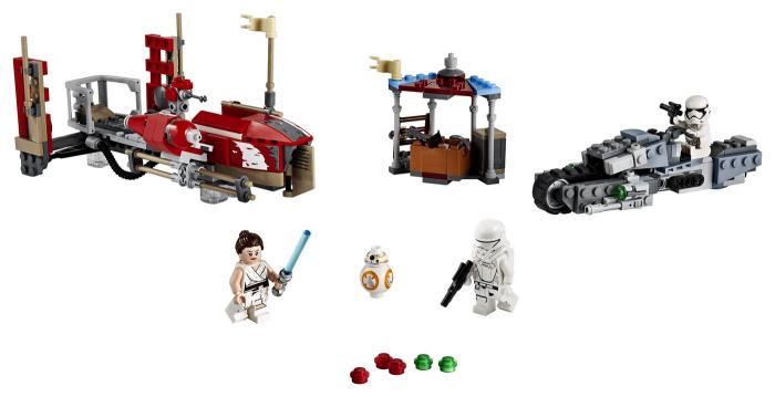 Set de LEGO 75250 de Star Wars: El Ascenso de Skywalker (2019)