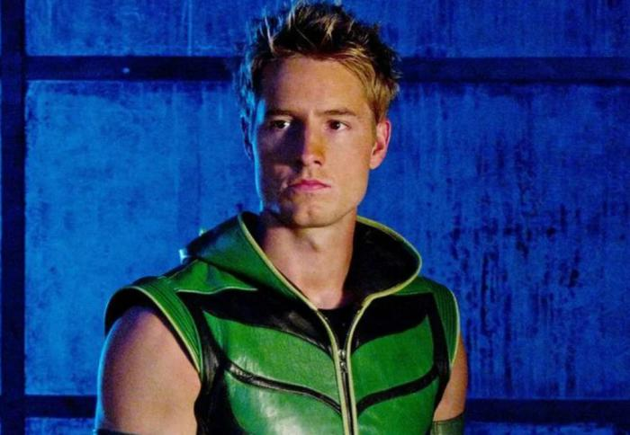 Justin Hartley como Green Arrow en Smallville