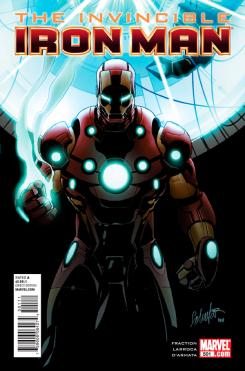Portada del cómic The Invincible Iron Man #501