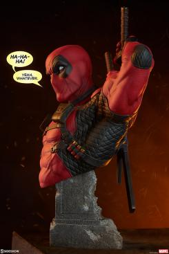 Busto de Deadpool, por Sideshow Collectibles