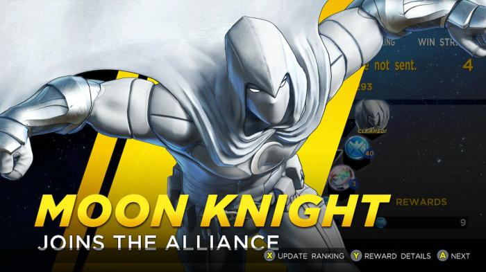 Moon Knight llega con el pack Curse of the Vampire a Marvel Ultimate Alliance 3: The Black Order