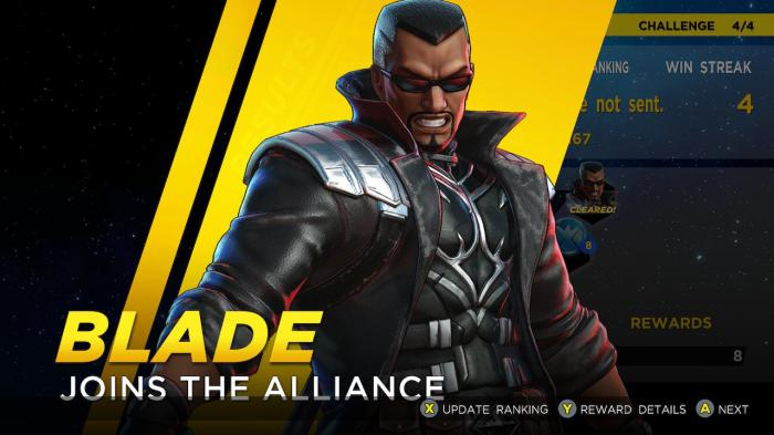 Blade llega con el pack Curse of the Vampire a Marvel Ultimate Alliance 3: The Black Order