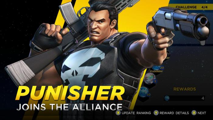 Punisher llega con el pack Curse of the Vampire a Marvel Ultimate Alliance 3: The Black Order