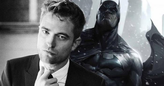 Montaje de Robert Pattinson para Batman