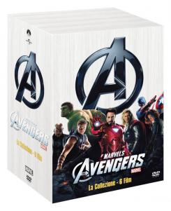 Imagen del pack DVD Marvel Cinematic Universe - Phase One: Avengers Assembled para Italia