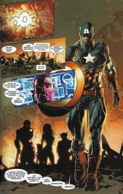 Marvel Now! Deluxe. Pecado Original. Página de muestra.