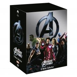 Imagen del pack DVD Marvel Cinematic Universe - Phase One: Avengers Assembled para Reino Unido