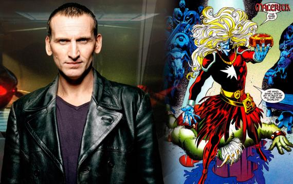 Christopher Eccleston es el villano Malekith el Maldito en Thor: The Dark World (2013)