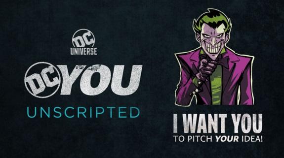 Imagen promocional de DCYou Unscripted