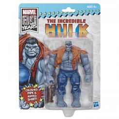 Figura Marvel Legends Hasbro The Incredible Hulk especial 80 aniversario