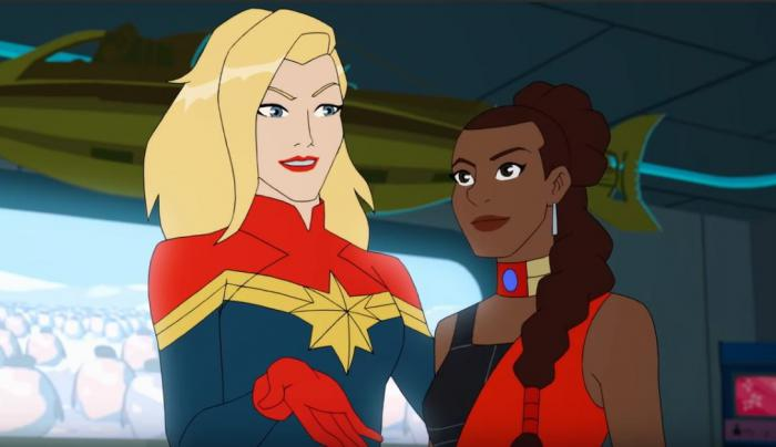 Captura del trailer de Marvel Rising: Operation Shuri