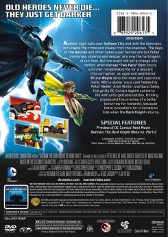 "Carátula trasera del DVD de ""Batman: The Dark Knight Returns Part 1"""