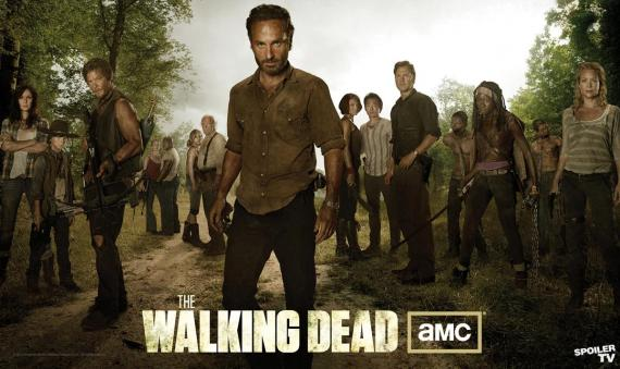 Banner poster de la tercera temporada de The Walking Dead (2012  - 2013)