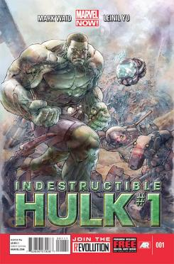 Portada del cómic Marvel Now! Indestructible Hulk #1