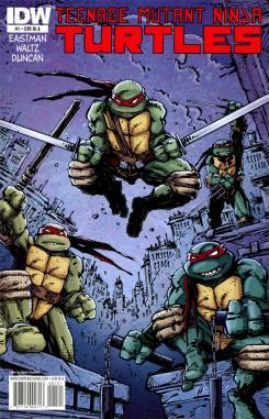 Imagen de los cómics de Teenage Mutant Ninja Turtles