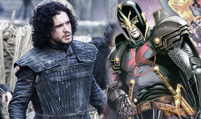 Kit Harington es Dane Whitman/Black Knight