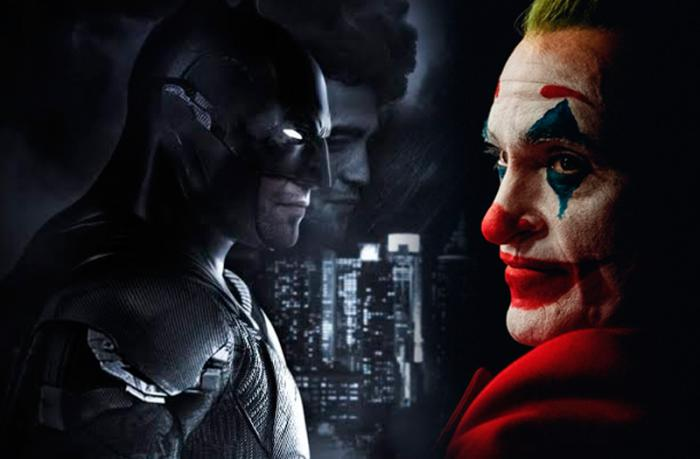 Joker de Joaquin Phoenix y el Batman de Robert Pattinson