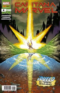Portada de Capitana Marvel, núm. 5