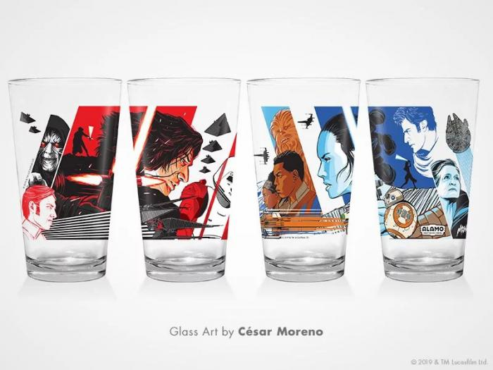 Vasos promocionales de Star Wars: El Ascenso de Skywalker (2019)