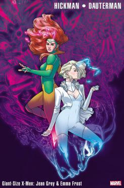 Portada de Giant-Size X-Men: Jean Grey y Emma Frost #1 (febrero 2020)