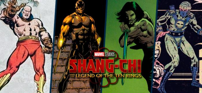 Tiger-Claw, Moving Shadow, Razor-Fist y Ghost Maker rumoreados para Shang-Chi