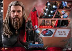 Figura de Thor de Vengadores: Endgame, de Hot Toys