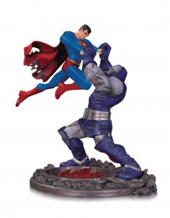 ESTATUA DE BATALLA DE SUPERMAN VS DARKSEID TERCERA EDICIÓN