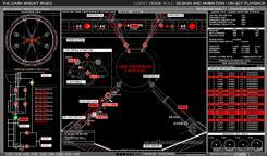 Diseños conceptuales de The Dark Knight Rises / El Caballero Oscuro: La Leyenda Renace (2012)