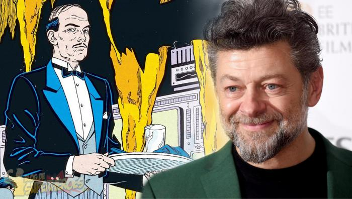 Andy Serkis en negociaciones para ser Alfred en The Batman