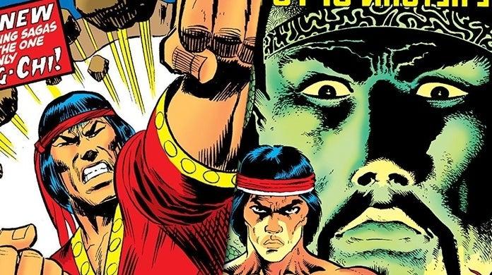 Imagen de Shang-Chi en los cómics Marvel