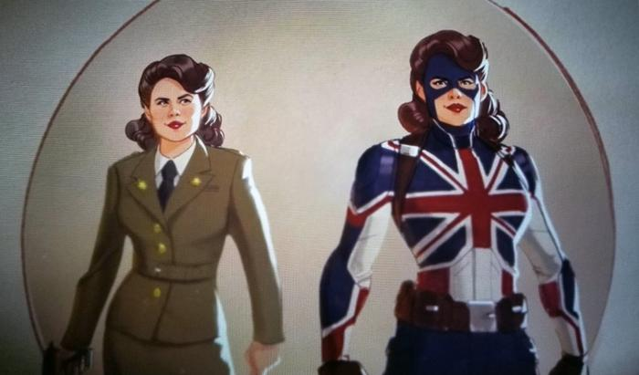 Sharon Carter es Captain Carter en la serie What If...?