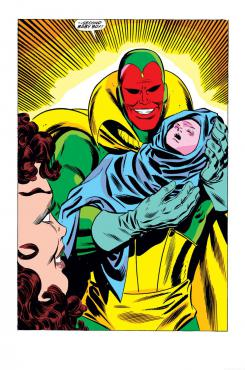 Imagen del cómic The Vision and the Scarlet Witch #12