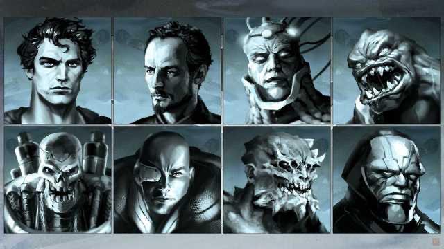 Imagen del cancelado juego de Superman de 2013