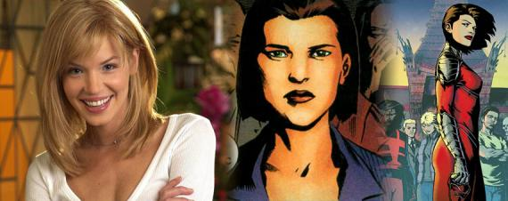Ashley Scott será Kate Spencer en Arrow