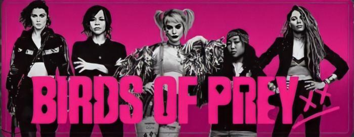 Banner promocional de Birds of Prey (and the Fantabulous Emancipation of One Harley Quinn)