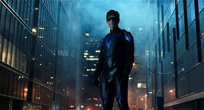 Captura del episodio Titans 2x13: Nightwing
