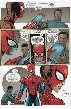 Amistoso Vecino Spiderman, núm. 4. Página de muestra.