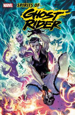Portada del one-shot de Lilith, Ghost Rider: Mother of Demons #1