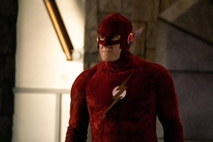 Imagen de Flash de Tierra-90 en The Flash 6×09: Crisis on Infinite Earths: Part Three