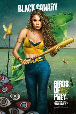 Poster promocional de Black Canary en Birds of Prey (2020)