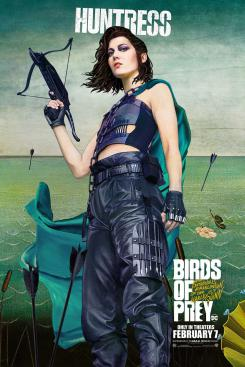 Poster promocional de Huntress (Cazadora) en Birds of Prey (2020)