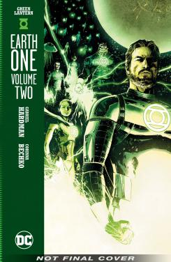 Portada de Green Lantern: Earth One Vol 2
