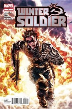 Portada del cómic Winter Soldier #4 (2012)