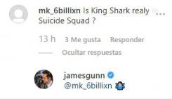 Respuesta de James Gunn a si King Shark estará en la película