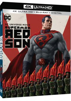 Carátula del formato 4k UltraHD de Superman: Red Son