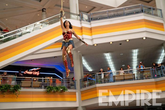 Imagen de Wonder Woman 1984 (2020) por la revista Empire