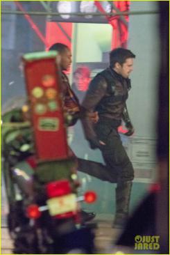 Imagen del rodaje de The Falcon and The Winter Soldier (2019) en Atlanta