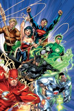 Portada del comic Justice League #1, de The New 52